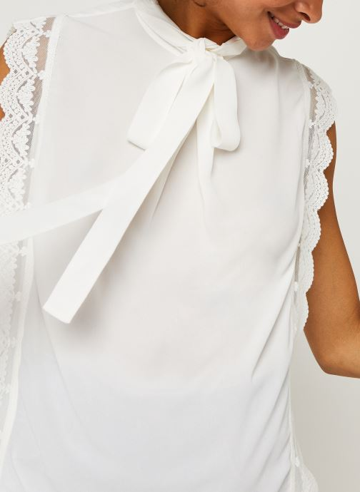 Vêtements IKKS Women Top Br11025 Blanc vue face