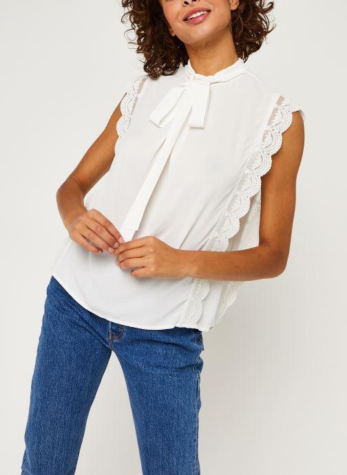 Vêtements IKKS Women Top Br11025 Blanc vue droite
