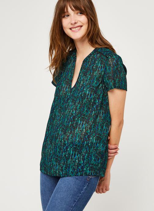 Vêtements IKKS Women Top Br11055 Vert vue droite