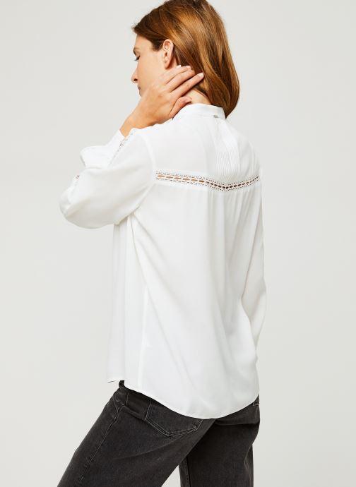 Vêtements IKKS Women Blouse Br13005 Blanc vue portées chaussures