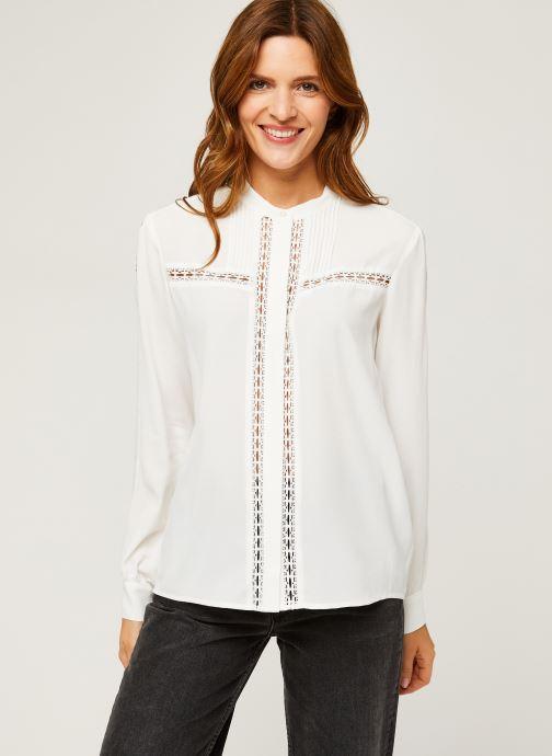 Vêtements IKKS Women Blouse Br13005 Blanc vue droite