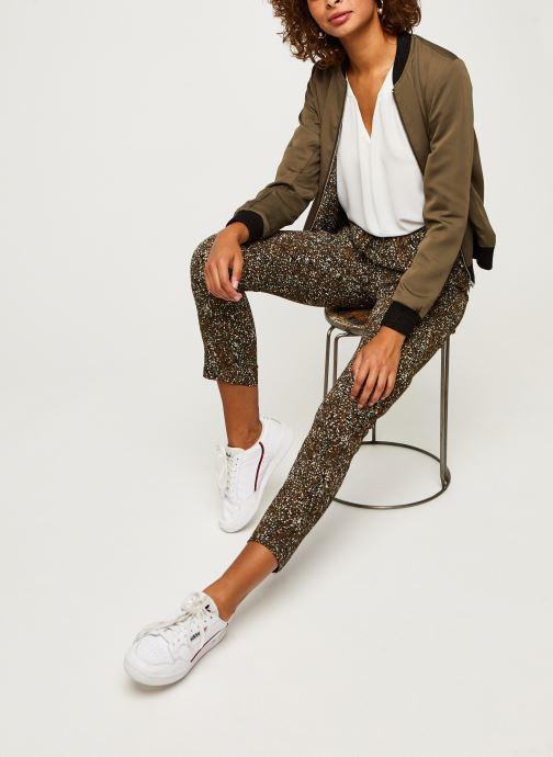 Vêtements IKKS Women Pantalon Br22005 Vert vue bas / vue portée sac