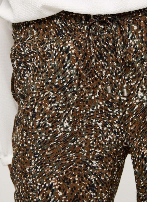 Vêtements IKKS Women Pantalon Br22005 Vert vue face