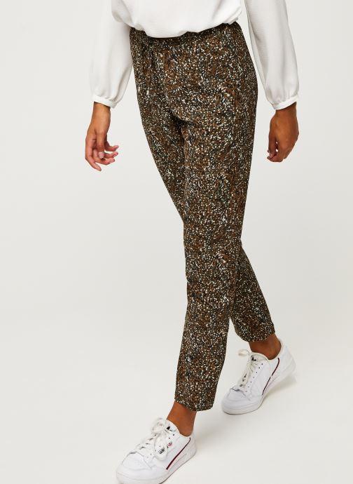 Vêtements IKKS Women Pantalon Br22005 Vert vue détail/paire