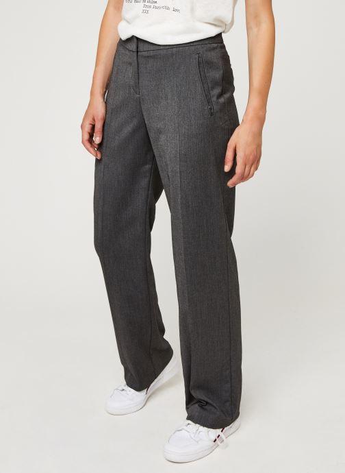 Vêtements IKKS Women Pantalon Br22015 Gris vue détail/paire