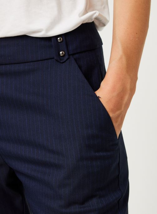 Vêtements IKKS Women Pantalon Br22025 Bleu vue face