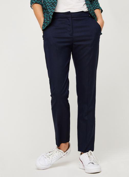 Vêtements IKKS Women Pantalon Br22025 Bleu vue détail/paire