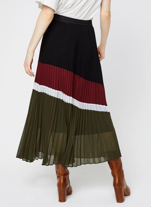 Vêtements IKKS Women Jupe Br27015 Multicolore vue portées chaussures