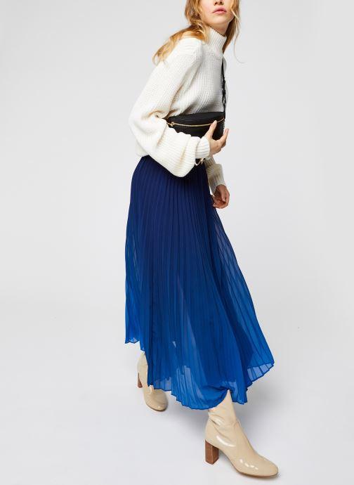 Vêtements IKKS Women Jupe Br27045 Bleu vue bas / vue portée sac
