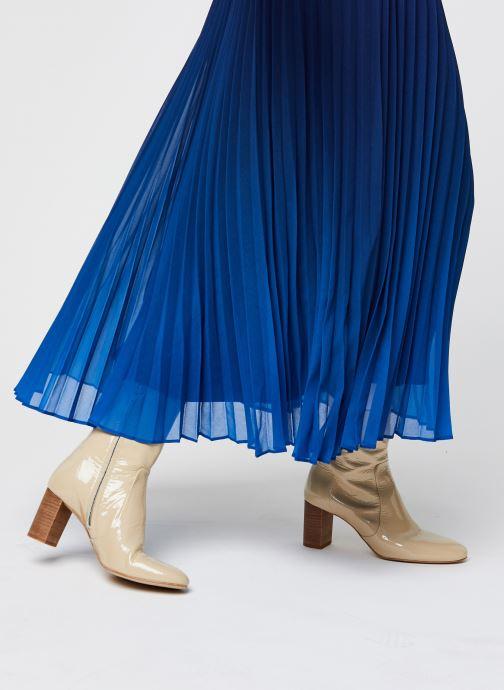 Vêtements IKKS Women Jupe Br27045 Bleu vue face