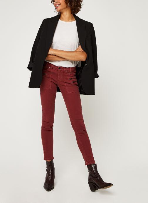 Vêtements IKKS Women Jean Br29015 Rouge vue bas / vue portée sac