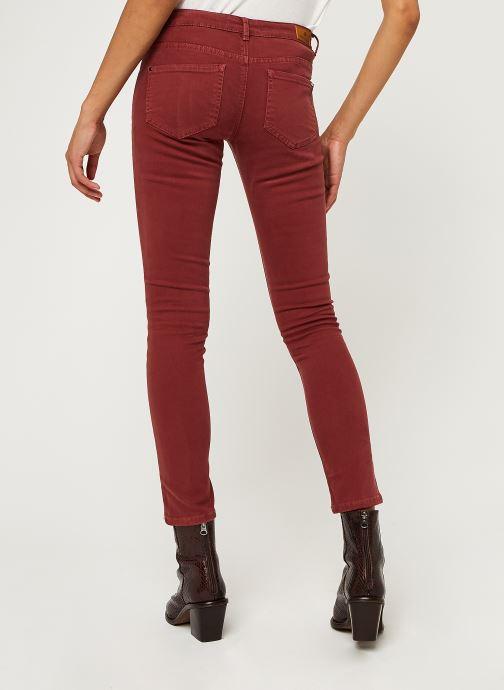 Vêtements IKKS Women Jean Br29015 Rouge vue portées chaussures