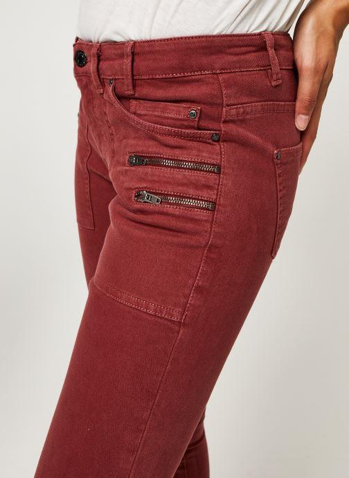 Vêtements IKKS Women Jean Br29015 Rouge vue face