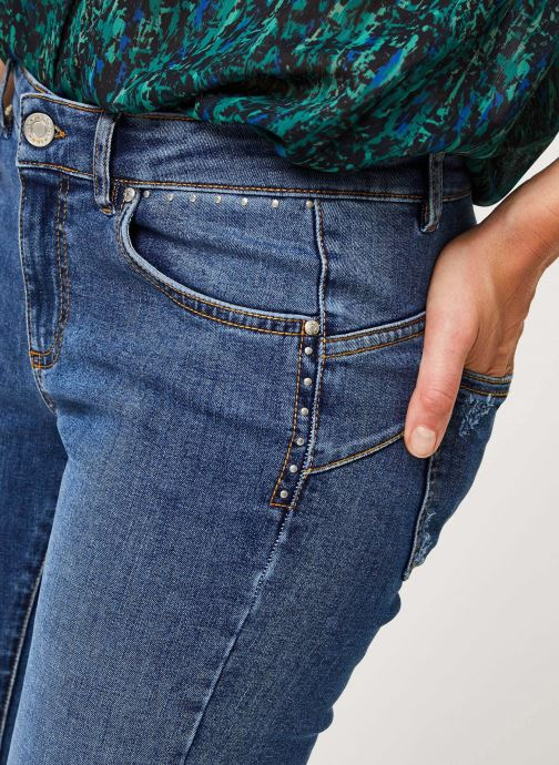 Vêtements IKKS Women Jean Br29025 Bleu vue face