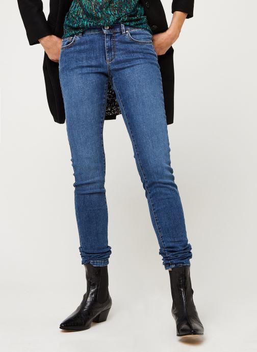 Vêtements IKKS Women Jean Br29025 Bleu vue détail/paire