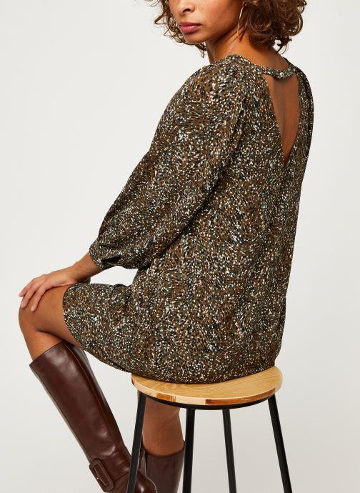 Vêtements IKKS Women Robe Br30275 Vert vue détail/paire
