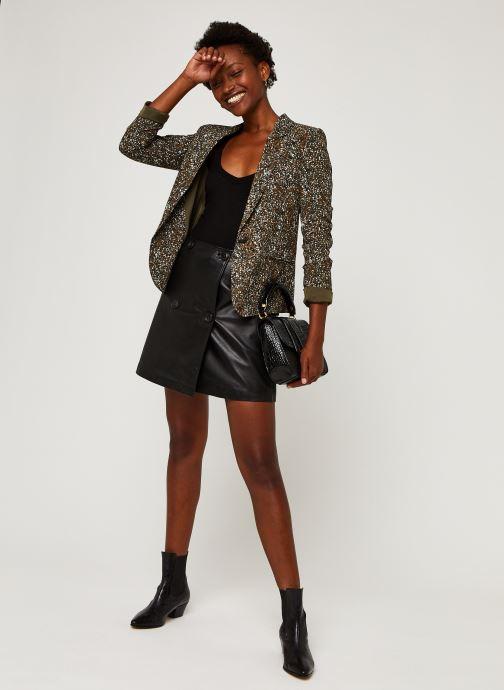 Vêtements IKKS Women Veste Br40005 Vert vue bas / vue portée sac