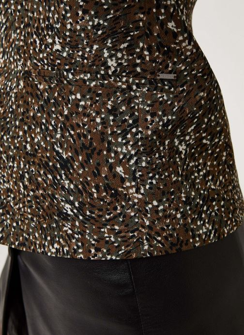 Vêtements IKKS Women Veste Br40005 Vert vue face