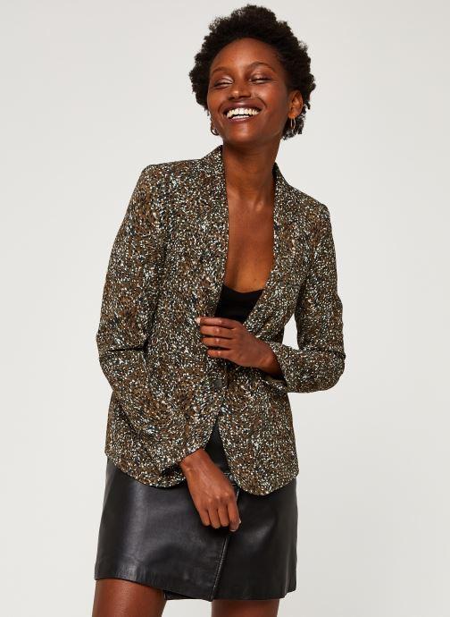 Vêtements IKKS Women Veste Br40005 Vert vue droite