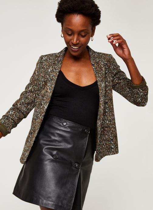 Vêtements IKKS Women Veste Br40005 Vert vue détail/paire