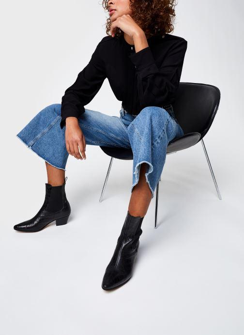 Vêtements IKKS Women Blouse Br13215 Noir vue bas / vue portée sac
