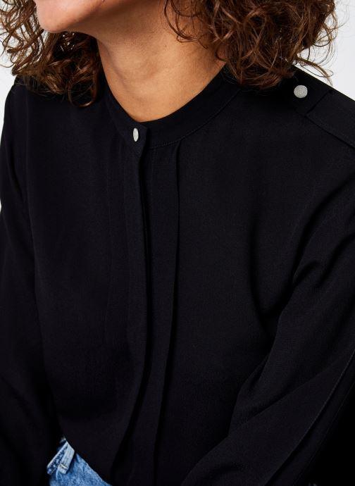 Vêtements IKKS Women Blouse Br13215 Noir vue face