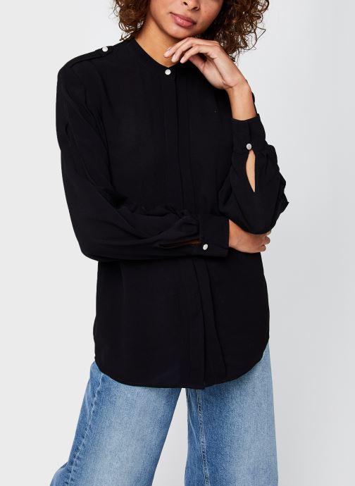 Vêtements IKKS Women Blouse Br13215 Noir vue droite