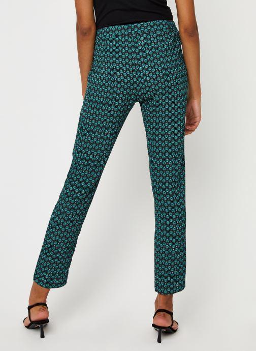 Vêtements IKKS Women Pantalon Br22145 Vert vue portées chaussures