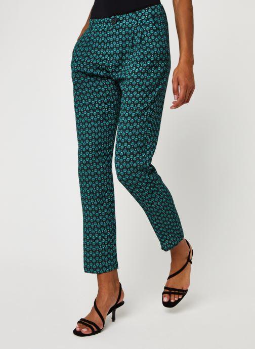 Vêtements IKKS Women Pantalon Br22145 Vert vue détail/paire