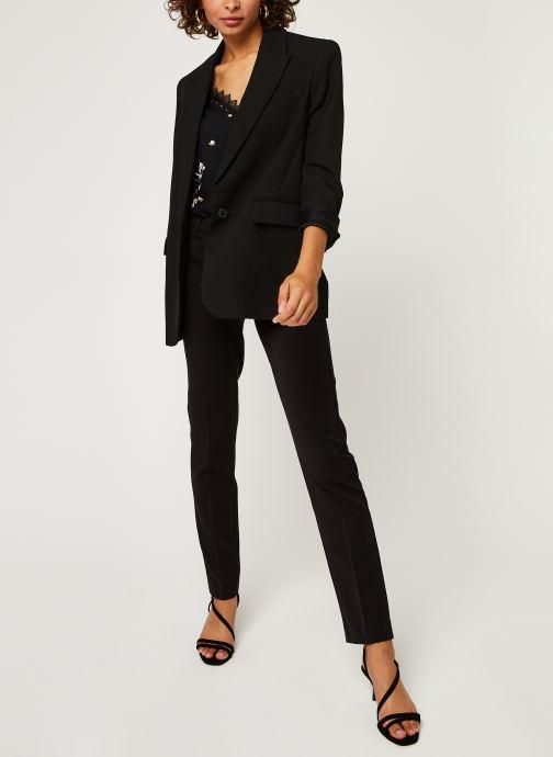 Vêtements IKKS Women Pantalon Br22165 Noir vue bas / vue portée sac