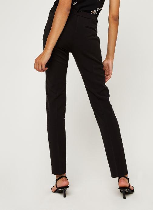 Vêtements IKKS Women Pantalon Br22165 Noir vue portées chaussures