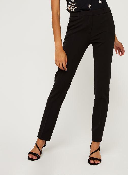 Vêtements IKKS Women Pantalon Br22165 Noir vue détail/paire