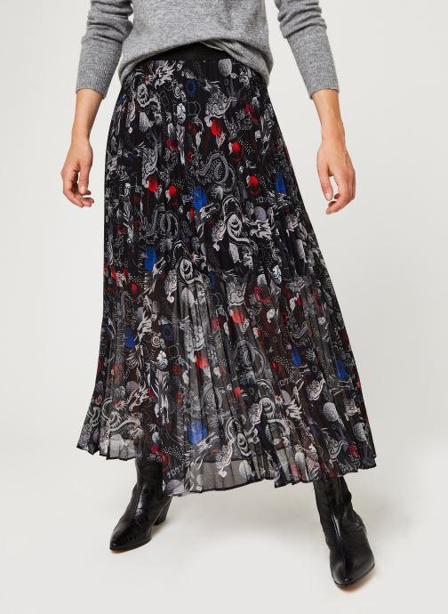 Vêtements IKKS Women Jupe Br27165 Noir vue détail/paire