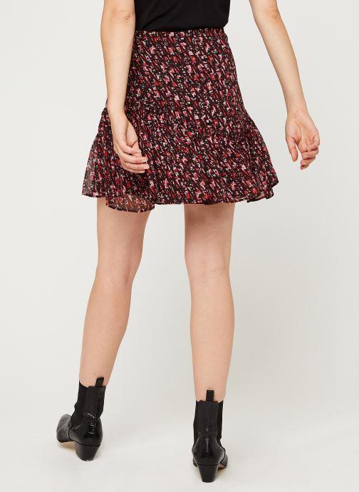Vêtements IKKS Women Jupe Br27235 Rouge vue portées chaussures