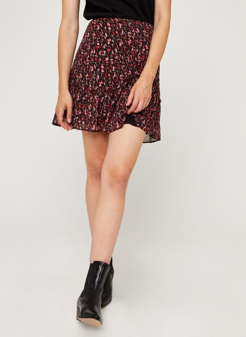 Vêtements IKKS Women Jupe Br27235 Rouge vue détail/paire