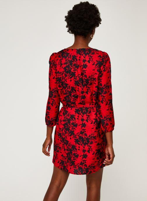 Vêtements IKKS Women Robe Br30215 Rouge vue portées chaussures