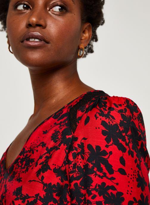 Vêtements IKKS Women Robe Br30215 Rouge vue face