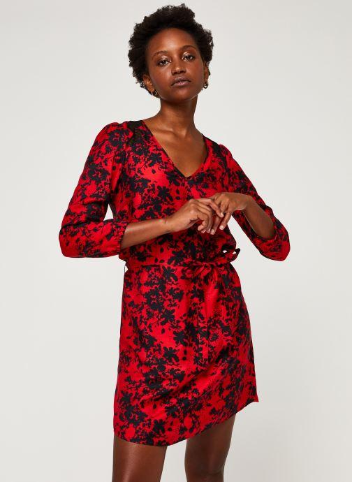 Vêtements IKKS Women Robe Br30215 Rouge vue droite