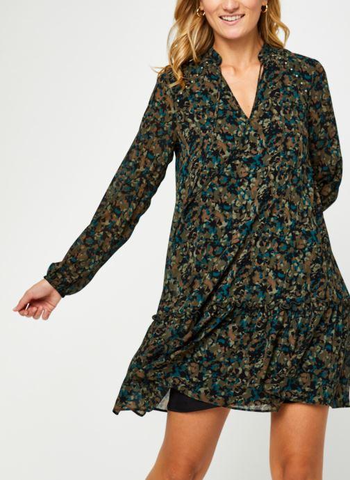 Vêtements IKKS Women Robe Br30385 Vert vue détail/paire