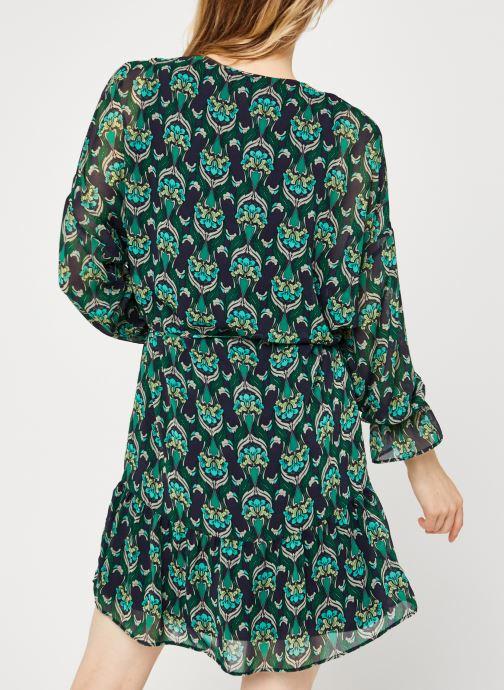 Vêtements IKKS Women Robe Br30535 Vert vue portées chaussures