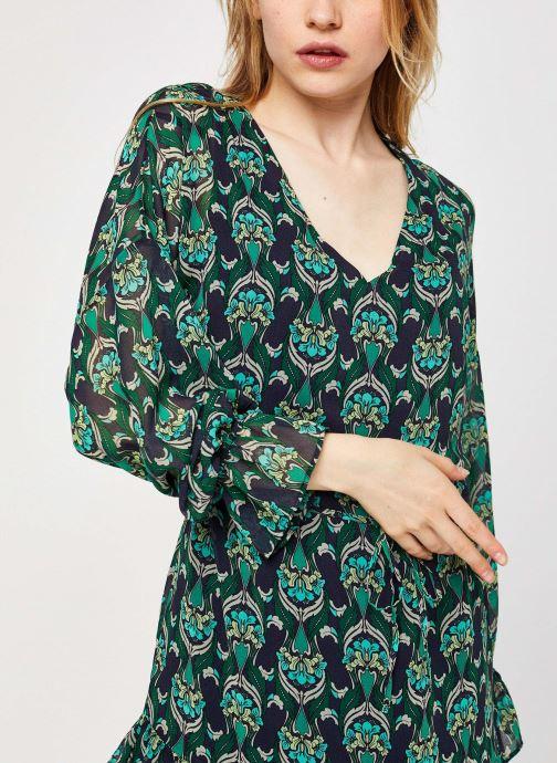Vêtements IKKS Women Robe Br30535 Vert vue face