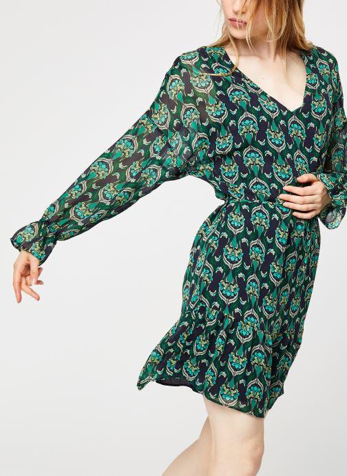 Vêtements IKKS Women Robe Br30535 Vert vue détail/paire