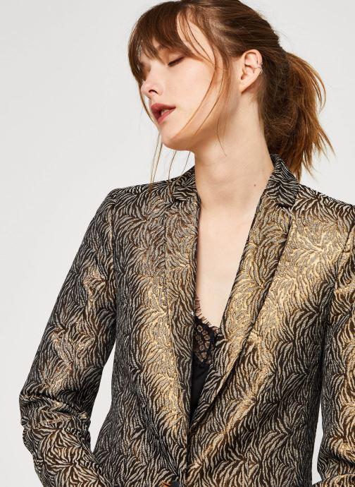 Vêtements IKKS Women Veste Br40075 Marron vue face