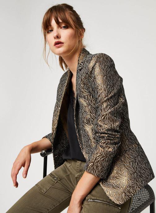 Vêtements IKKS Women Veste Br40075 Marron vue détail/paire