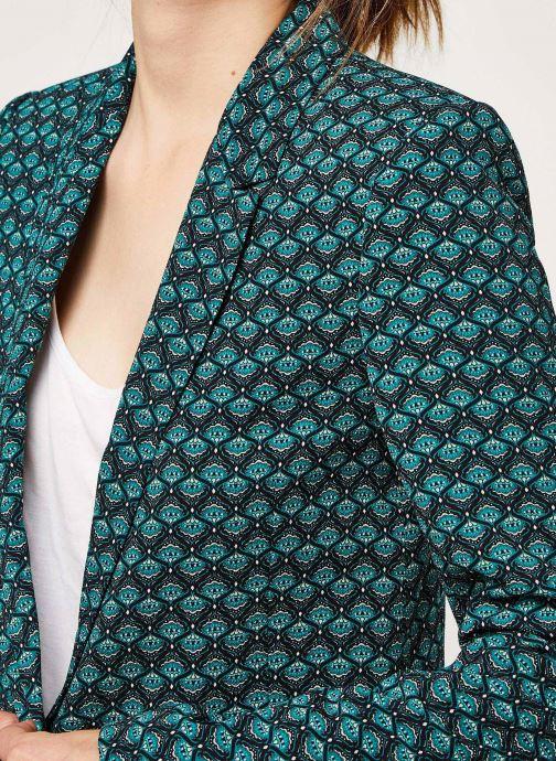 Vêtements IKKS Women Veste Br40135 Vert vue face