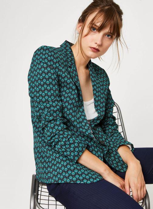 Vêtements IKKS Women Veste Br40135 Vert vue détail/paire