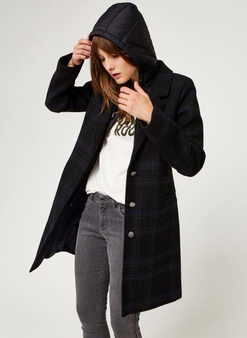 Vêtements IKKS Women Manteau Br44135 Noir vue détail/paire