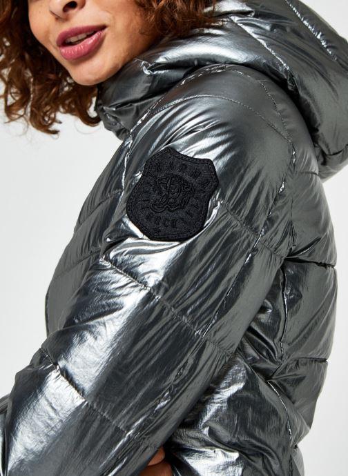 Vêtements IKKS Women Doudoune Br45095 Argent vue face