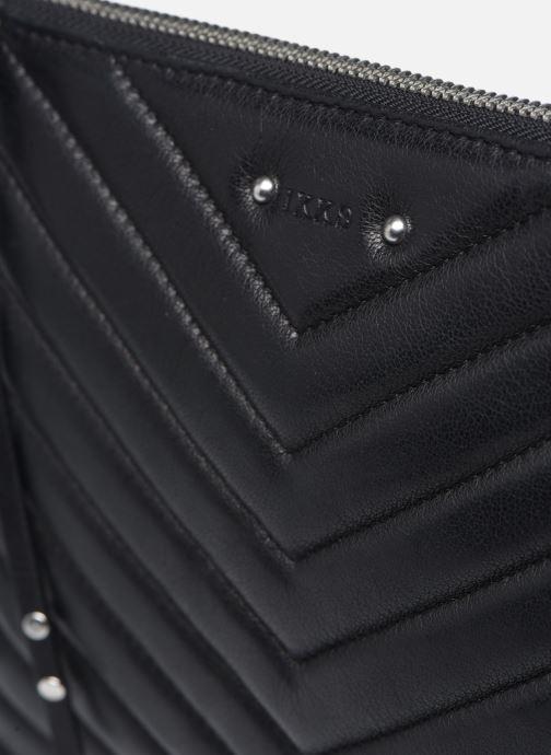 Mini Bags IKKS Women Pocket schwarz ansicht von links