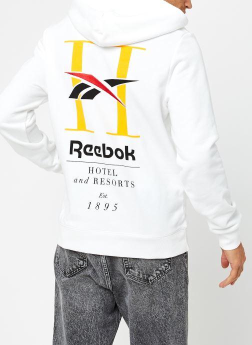 Reebok Cl Gp Hotel Hoodie (Blanc) - Vêtements chez Sarenza (459481) Qu2V8